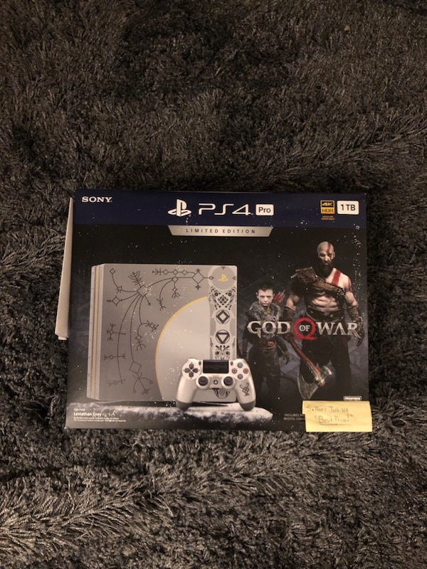 [CHEAP] PS4 Pro: God of War Edition