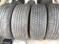 4 all season tires with aluminum rims in excellent condition. Size 235 / 65 / R 16 Edmonton, T5X 2B7