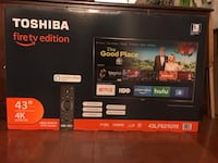 Toshiba fire TV 43 inches 4K Ultra HD Springfield, 22152