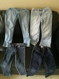 4 pairs a girl jeans  Toronto, M6S 4W6