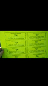 My little sister is selling tickets for Car wash  Bakersfield, 93304