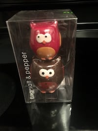 Owl Salt and Pepper Shakers, New in Box Toronto, M1N 2Z8