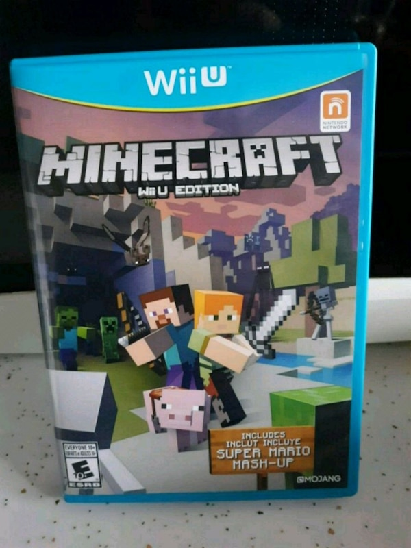 Wii U Minecraft and Super Mario Mash-Up