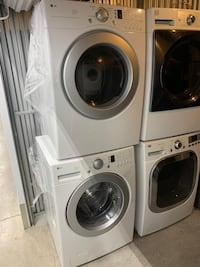 LG washer and dryer set.