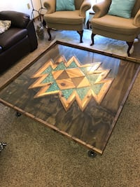 Unique handmade coffee table Oklahoma City, 73150