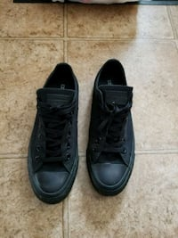 SIZE 8.5 Black Converse All Star low-top sneakers Winnipeg, R2C 5M2