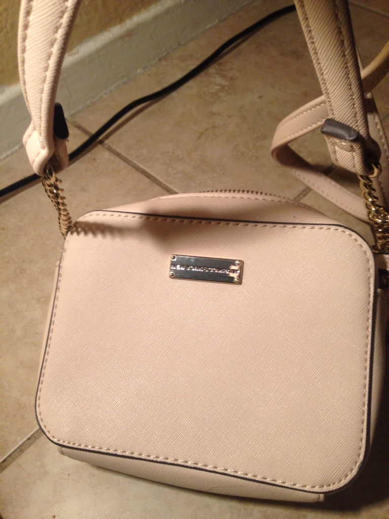 used white leather michael kors crossbody bag for sale in las vegas rh us letgo com