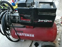 red and black Sears Craftsman air compressor Largo, 20774