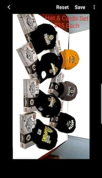 NHL Boston Bruins Hats 2011 and 2013 Stanley Cup Northbridge, 01534