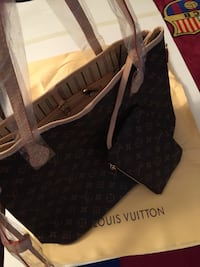 black and brown Louis Vuitton leather tote bag Salinas, 93906