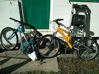 yellow and black full-suspension mountain bike Saint Petersburg, 33705