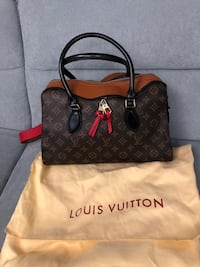 Tote bag in pelle monogram nera e marrone Louis Vuitton San Donato Milanese, 20097