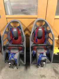 Baby's two gray-red-and-black bell stroller seats Methuen, 01844