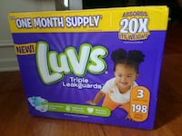 Brand NEW Size 3 diapers Charlotte, 28277