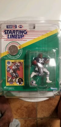 1991 Emmitt Smith Starting Lineup  San Angelo, 76904