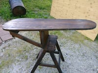 Vintage ironing board/ step stool/chair
