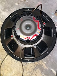 black and red car subwoofer Los Angeles, 91367