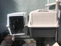 white and black pet carrier Hercules, 94547