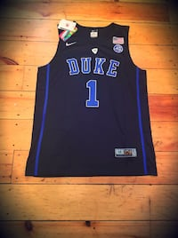 ROOKIE COLLEGE JERSEY! ZION WILLIAMSON DUKE #1- MEDIUM- NIKE NEW Toronto
