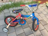 toddler's blue and red bicycle Toronto, M2H