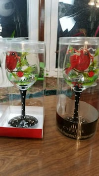 Hand painted wine steamer