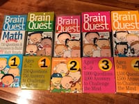 Brain quest and summer bridge cards and activities set