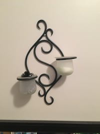 Wall decor / candle