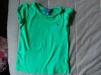 green and white crew-neck t-shirt Temple Hills, 20748