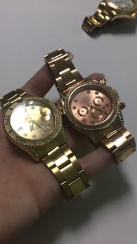 Watch his and her gold Rockville