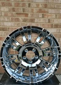 Jeep Wrangler( Rubicon) Chrome Rims Clinton