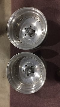 "Centerline wheels with caps 15x8-1/2 on 4-1/2"" ford bolt pattern"