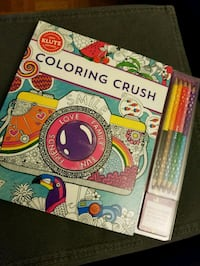 Coloring Crush - Klutz Book