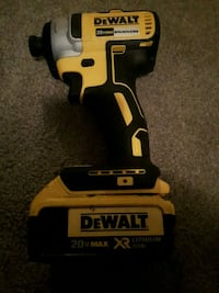 yellow and black DeWalt power tool Spruce Grove, T7X 2S9