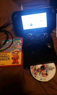Black Wii U 32gb with Pro controller and 2 games Farmersville, 75442