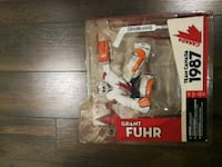 Grant Fuhr action figure with box