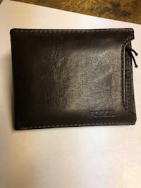 Fossil mens leather wallet Kitchener, N2H 2E9