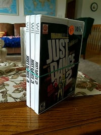 Wii Just Dance 2,3, and 4  Brooklyn Park, 55443