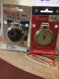 Two round silver-colored analog watches Union City, 94587