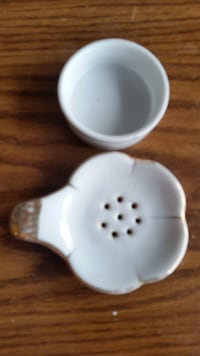 Vtg tea bag strainer