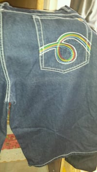 gray and yellow denim bottoms Cottondale, 35453
