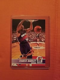 Charles Barkley trading card Suffolk, 23434