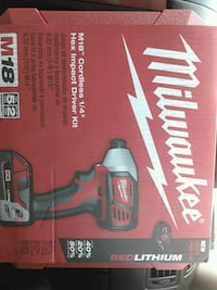 Milwaukee M18 Fuel cordless drill box New Smyrna Beach, 32168