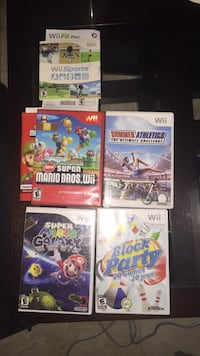 Wii + 3games + 2manettes Laval, H7M 4S2