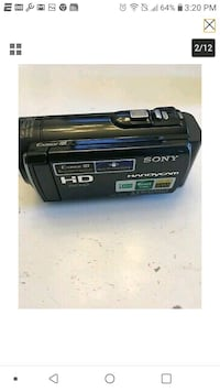 Sony HANDY CAM Camcorder - Full HD 1080 No cord. For parts