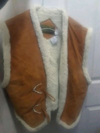 Warm leather vest Spruce Grove, T7X 4M9