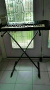 YAMAHA Keyboard with Stand and Adapter