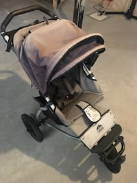baby's black and gray stroller Edmonton, T5T 7H3