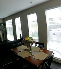 1 Dining table 4 chairs ( hard wood) Arlington, 22201
