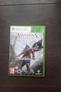 Xbox 360 Assassin's Creed 4 Black Flag spelväska Kävlinge, 244 39