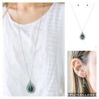 Tranquility green necklace Gaithersburg, 20878